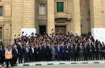 """نقيب المحامين يشارك في احتفال """"حقوق القاهرة"""" بالخريجين"""