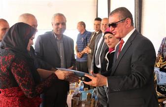 """محافظ كفر الشيخ يسلم 76 وحدة سكنية لمستحقي الإسكان الاجتماعي بـ""""فوه""""   صور"""