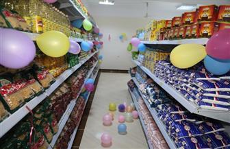 الهجان يستكمل افتتاح منافذ بيع منتجات جهاز الخدمة الوطنية بمركزي قنا وقوص | صور