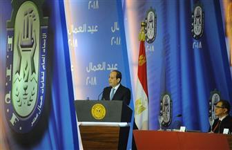 الرئيس السيسى: وعي الشعب هو السبيل الوحيد لحماية البلد
