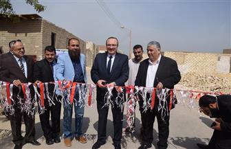 افتتاح مشروعات خدمية بتكلفة 20 مليون جنيه بمركز ناصر في بني سويف | صور