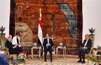 وزير خارجية فرنسا فى مؤتمر صحفى مع سامح شكرى: علينا التعاون مع الدول ذات الثقل للخروج من الأزمة السورية