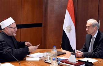 رئيس الوزراء يستقبل مفتي الديار المصرية