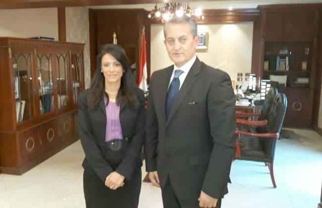 وزيرة السياحة تلتقى السفير الصربى وتبحث سبل زيادة الحركة السياحية الوافدة إلى مصر -