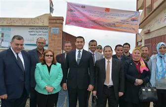 """جامعة بورسعيد تنظم قافلتين """"طبية وبيئية"""" في قرى بالمحافظة"""