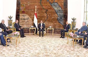 الرئيس السيسي يؤكد دعمه وحدة العراق ومساندة جهود استعادة الاستقرار