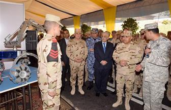 وزير الدفاع: مستمرون في التعاون مع القيادة السياسية لاستكمال مسيرة التنمية