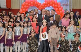 محافظ دمياط يشهد احتفالية يوم اليتيم بالصالة المغطاة برأس البر   صور