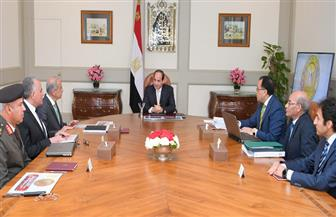 الرئيس السيسي يبحث الموقف التنفيذي للخطة القومية لتحلية المياه مع وزراء الإسكان والزراعة والري