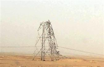 أهالي أبو سمبل يكرمون فريق صيانة أعاد الكهرباء للمنازل بعد انقطاعها بسبب العاصفة الترابية