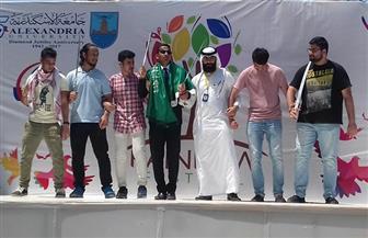الشباب السعوديون ينقلون تراث المملكة في يوم الجاليات بـ «جامعة الاسكندرية»
