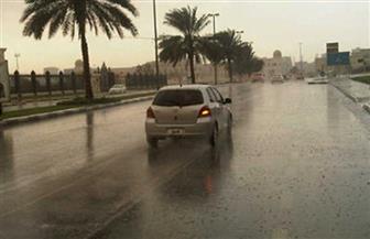 أمطار متوسطة على طور سيناء وغيوم ورياح محملة بالرمال تغطي معظم مدن جنوب سيناء