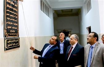 رئيس جامعة بني سويف يفتتح المرحلة الأولى من أعمال تطوير كلية الحقوق