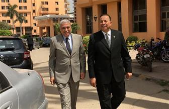 رئيس جامعة المنوفية والأمين العام يتفقدان مركز الدراسات الإستراتيجية   صور