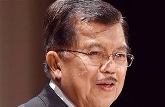 نائب الرئيس الإندونيسي يقيم مأدبة عشاء ترحيبا بشيخ الأزهر