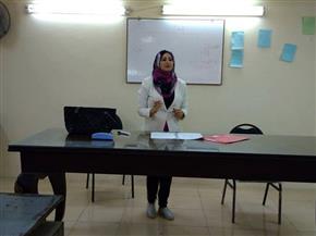 بالكربون والقلم الرصاص..المرأة المصرية تفننت في التطريز بورش عمل بالشرقية