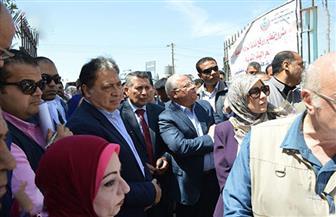 وزير الصحة يتفقد المنشآت الصحية في بورسعيد