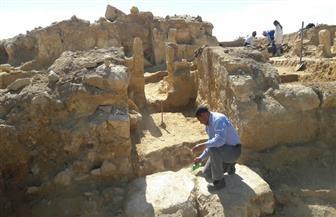 اكتشاف جزء من معبد يعود للعصر اليوناني الروماني |صور