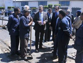 وزير النقل يتابع إنشاء جراج متعدد الطوابق بميناء الإسكندرية بتكلفة 285 مليون جنيه | صور