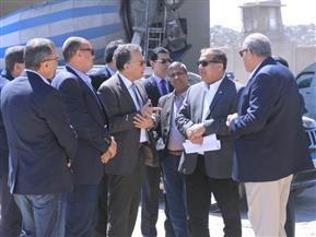 وزير النقل يتابع أعمال توسيع المحور التنموي لمدينة برج العرب بإجمالي تكلفة 1.2 مليار جنيه | صور