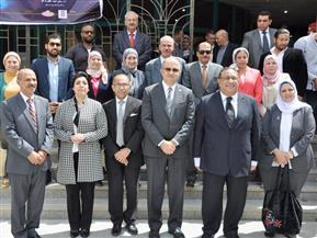جامعة حلوان تنظم الملتقى التوظيفي الـ16 | صور