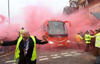 نادي ليفربول يعتذر لمانشستر سيتي بعد تعرض حافلة فريقه لهجوم