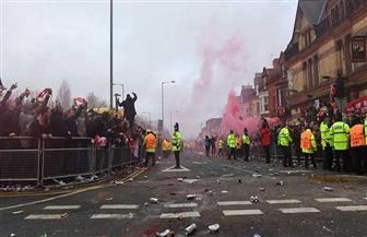 """""""ليفربول"""" معرض لعقوبات بسبب تصرف جماهيره مع """"مانشستر"""""""