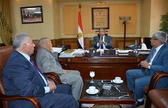 وزير الشباب والرياضة يستقبل وفد لجنة ضبط الأداء الإعلامي الرياضي