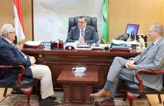 محافظ الفيوم يستقبل السفير الإيطالي بمصر لبحث مشروعات مشتركة بالمحافظة | صور
