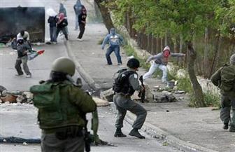 مواجهات بين المتظاهرين الفلسطينيين وجيش الاحتلال الإسرائيلى على الحدود