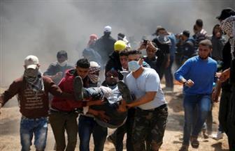 الهلال الأحمر الفلسطيني: 81 إصابة في مواجهات مع قوات الاحتلال بغزة