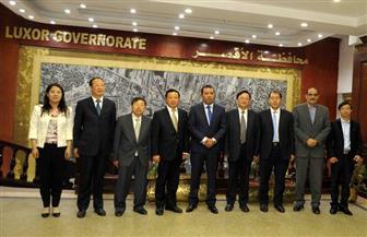 تعاون صيني مع محافظة الأقصر في مجالات الميكنة والصوب الزراعية