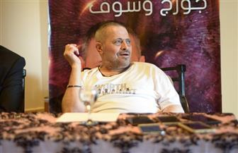 """جورج وسوف: """"بحب هتاف المصريين لي أبو وديع يا عمهم""""  صور"""