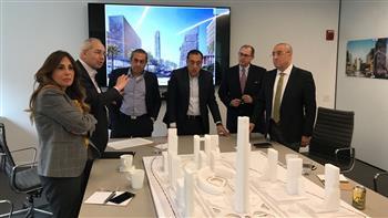 وزير الإسكان يستعرض تصميمات منطقة الأعمال المركزية بالعاصمة الإدارية