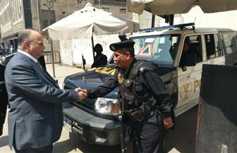 مدير أمن القاهرة يتفقد خدمات الكاتدرائية | صور