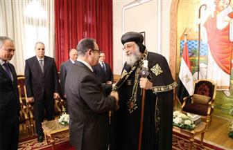وزير الداخلية يرأس وفد تقديم التهنئة للبابا تواضروس بمناسبة عيد القيامة المجيد