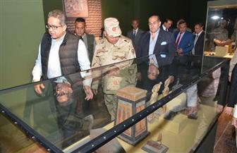 العناني يتفقد متحف سوهاج القومي تمهيدًا لافتتاحه | صور