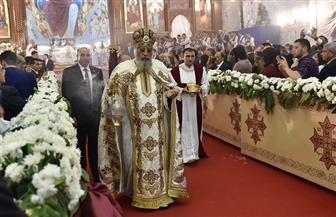 البابا تواضروس يشكر الرئيس السيسي لتقديم التهئنة والقوات المسلحة لجهودهم في سيناء