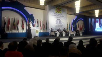 المطيري: مصر تحتضن أشقاءها دائما.. ونشكر الرئيس السيسي لرعايته مؤتمر العمل العربي | صور