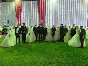 """""""حقوق الإنسان"""" بوزارة الداخلية يشارك فى حفل زفاف جماعى للعرائس الأيتام   صور"""