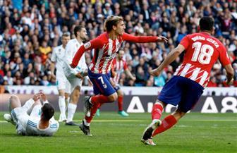 جريزمان يفرض التعادل على ديربي مدريد