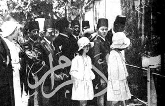 الملك فاروق وشقيقاته في شم النسيم .. صور خاصة تعود لعام 1926