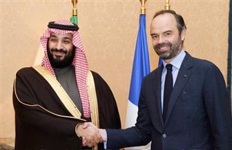 ولي العهد السعودي يجتمع مع رئيس وزراء فرنسا.. واليمن وسوريا يتصدران المباحثات