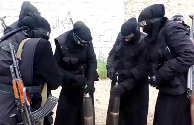 مفردات  داعش  التحفيزية لتجنيد المرأة..  أميرات الجنة ..  عرائس الجهاد  -