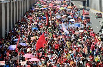 مسيرة عمالية في الفلبين للمطالبة بإنهاء العقود قصيرة الأجل