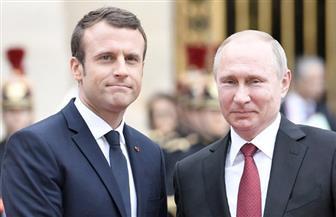 ماكرون وبوتين يجريان مباحثات بشأن سوريا وإيران وأوكرانيا على هامش نهائي المونديال