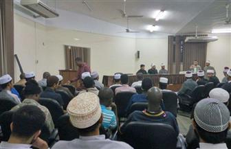 """""""البحوث الإسلامية"""" ينظم ندوة للطلاب الوافدين بمناسبة ليلة النصف من شعبان   صور"""