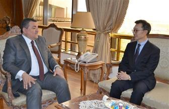 سفير كوريا الجنوبية في زيارة لمدينة الإنتاج الإعلامي