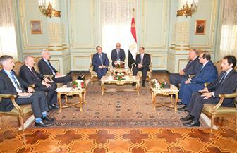 الرئيس السيسي يستقبل نظيره القبرصي ويبحثان الأوضاع في المنطقة والعلاقات الثنائية