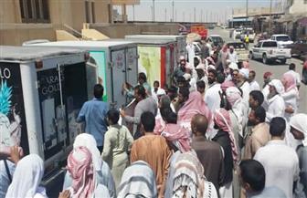 41 منفذا ثابتا ومتحركا لبيع السلع بأسعار مناسبة خلال رمضان بالوادي الجديد
